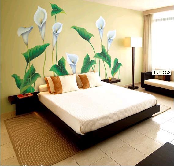 vẽ tranh tường phòng ngủ 2